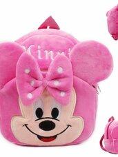 Minkšta pliušinė vaikiška kuprinė Minnie