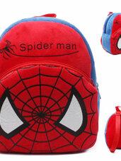 Minkšta pliušinė vaikiška kuprinė Spider Man