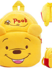 Minkšta pliušinė vaikiška kuprinė Winnie Pooh