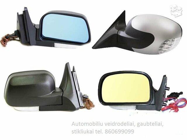 Veidrodėlis Audi A3 dangtelis stikliukas posukis