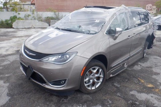 Chrysler Pacifica 2019 m dalys