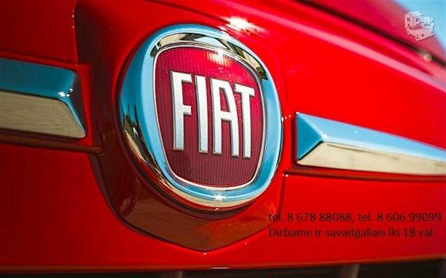 Fiat Dalimis Naudotos Fiat Dalys Naujos
