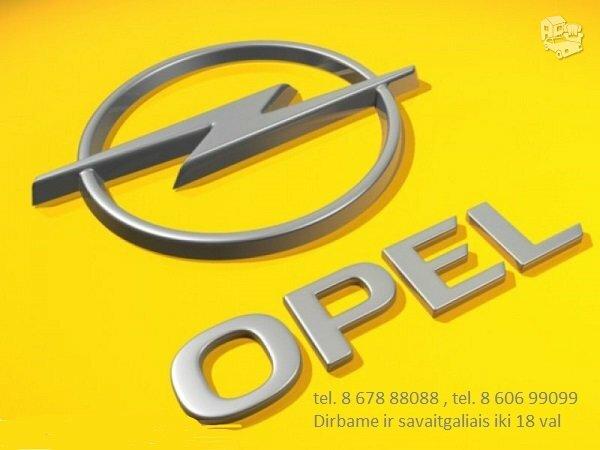 Opel kokybiskos dalys