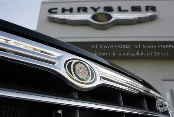 Chrysler Town & Country dalimis