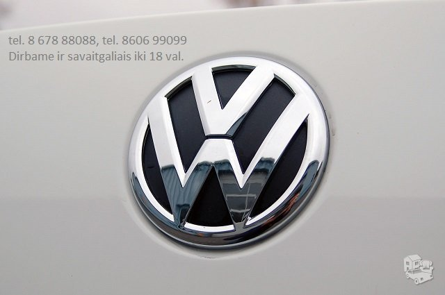 Volkswagen UP! dalimis