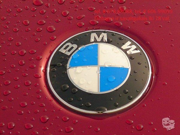 Bmw 3 E93 dalimis