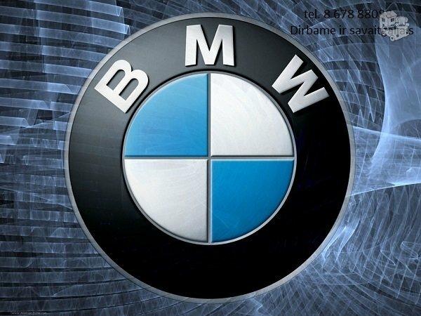 Bmw 5 E34 dalimis