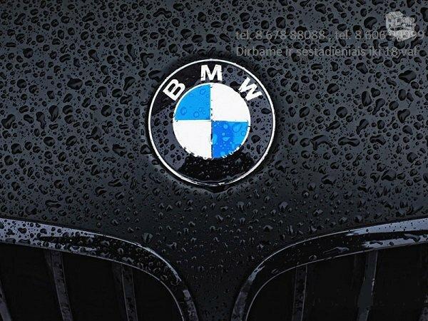 Bmw 7 e65 dalimis