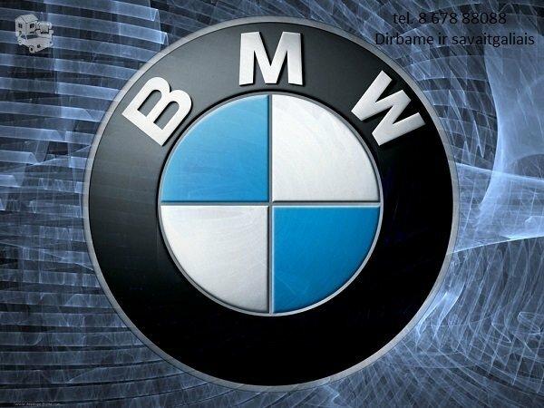 Bmw 5 E39 dalimis