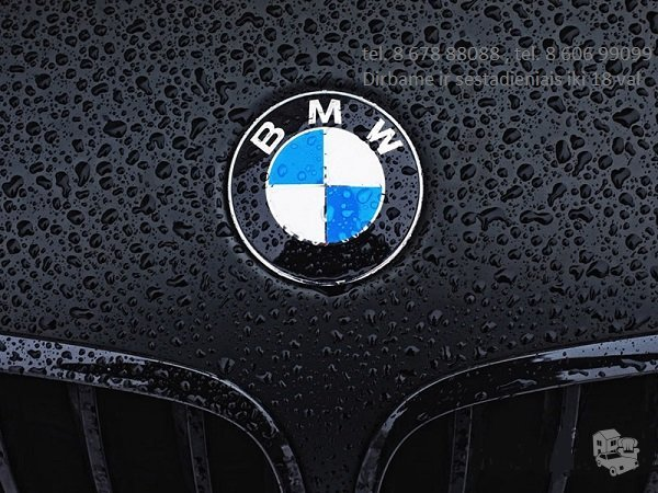 Bmw 7 F01 dalimis