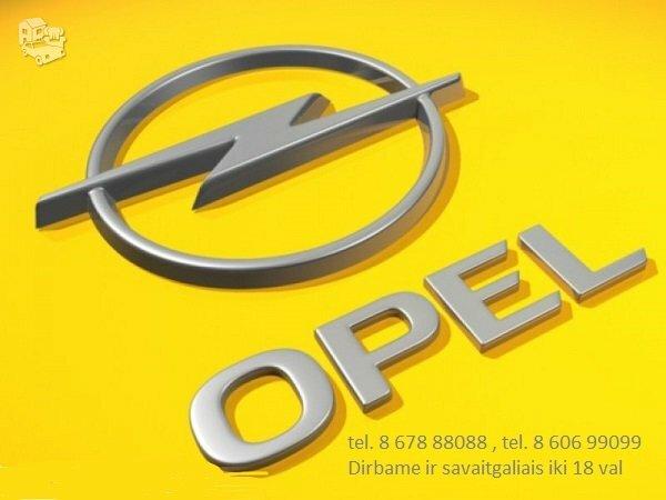 Opel Zafira A/B/Tourer dalimis