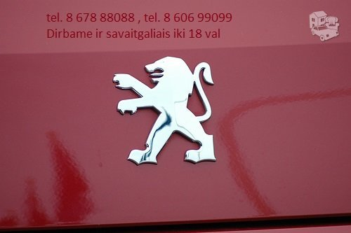 Peugeot 2008 dalimis