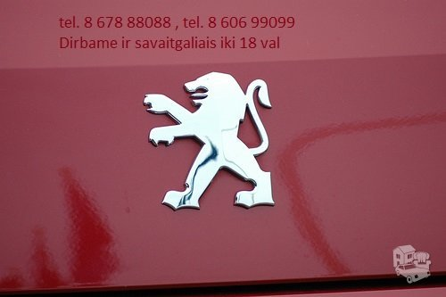Peugeot RCZ dalimis
