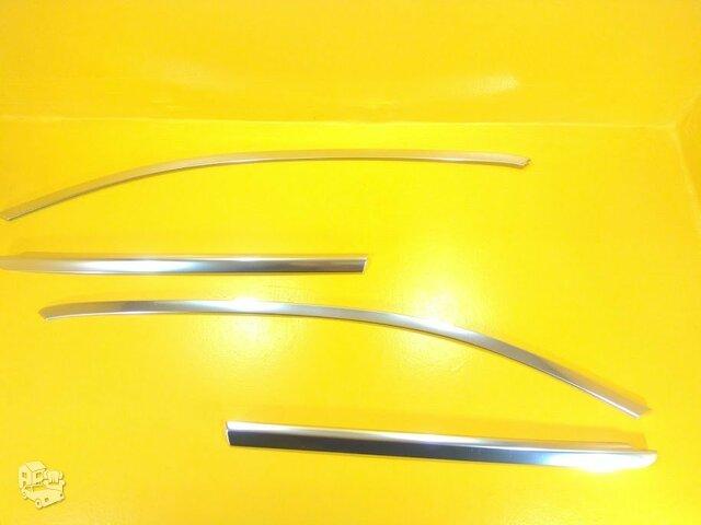 Mercedes Benz GLC-253 Nikeliuotos apdailos juostelės