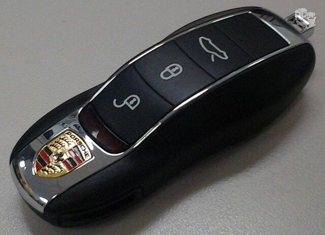 Porsche raktas porsche raktai
