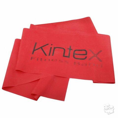 Juosta mankštai Kintex, raudona, 1,8m.