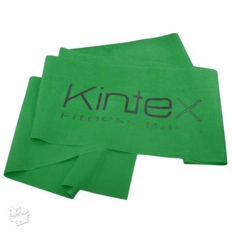 Juosta mankštai Kintex, žalia, 1,8m.