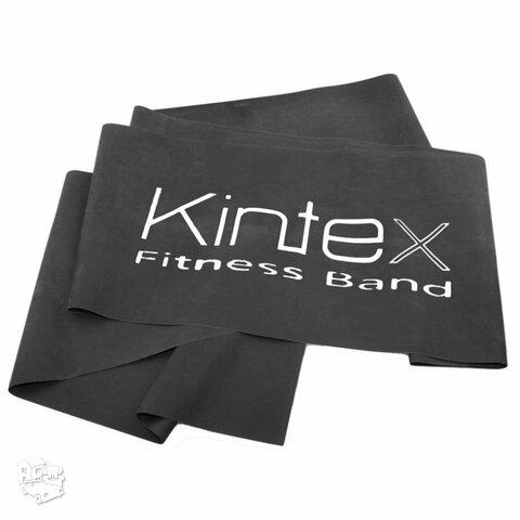 Juosta mankštai Kintex, juoda, 1,8m.