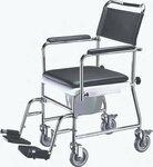 Tualetinė kėdė su keturiais ratukais TS-1