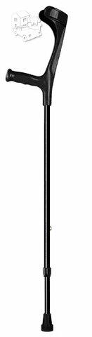 Ramentas – alkūninis, atviro tipo. Juodos spalvos.