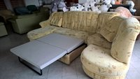 Gobeleninis minkštas miegamas svetainės kampas