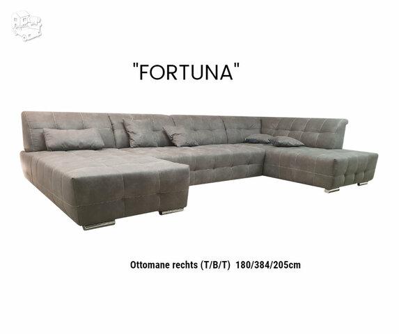 """Minkštas kampas """"U"""" formos """"Fortuna"""""""