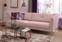 Minkšta sofa Nr146 rožinė