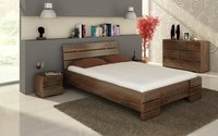 Skandinaviško dizaino medinė lova JONAS