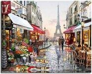 """Tapybos pagal skaičius rinkinys """"Love In Paris"""""""