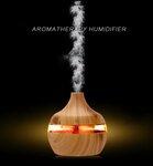 LED eterinių aliejų garintuvas - oro drėkintuvas difuzorius