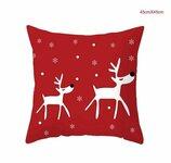 Kalėdinės pagalvėlės užvalkalas, 45x45 cm
