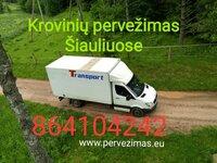 Krovinių pervežimas - perkraustymas paslaugos - Šiauliai