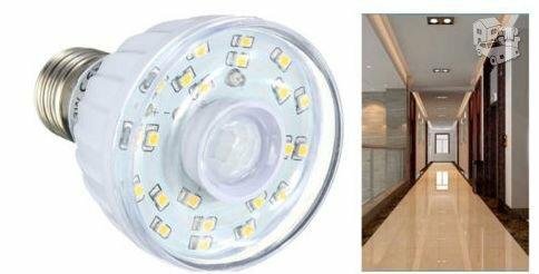 23 LED e27 lemputes su Judesio davykliu