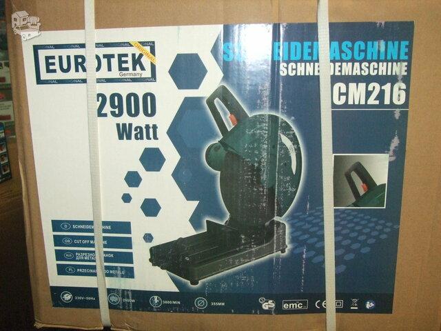 NAUJOS metalo pjovimo staklės EUROTEK Cm 216