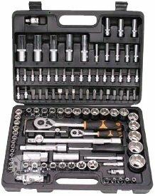 KING Pro Tools 108 dalių raktų komplektas ir KITI