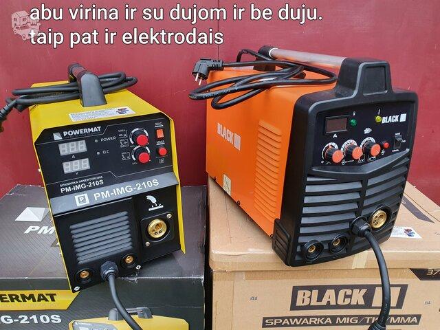 Pusautomaciai black powermat (kokybe)
