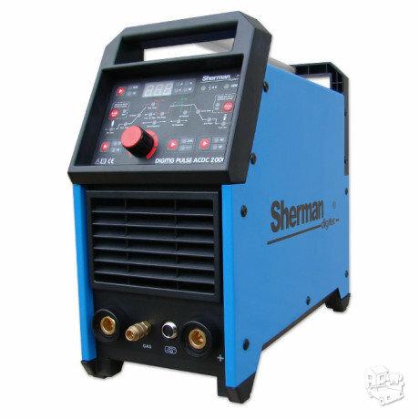 Suvirinimo aparatas aliuminiui Sherman tig/mma 200P
