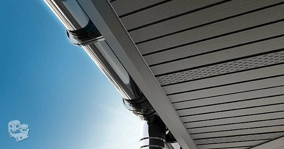 PVC stogo pakalimai