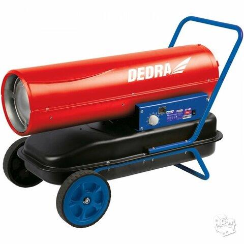 Dyzelinis šildytuvas 30 kW su termostatu DEDRA