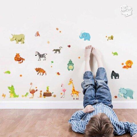 Sienos lipdukas Zoo