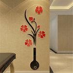 """Akrilinis 3D sienos lipdukas """"Gėlių vaza"""""""