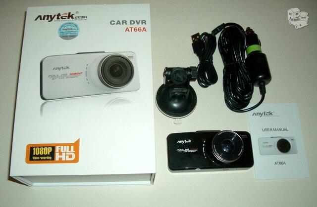 Naujas ANYTEK automobilio video registratorius