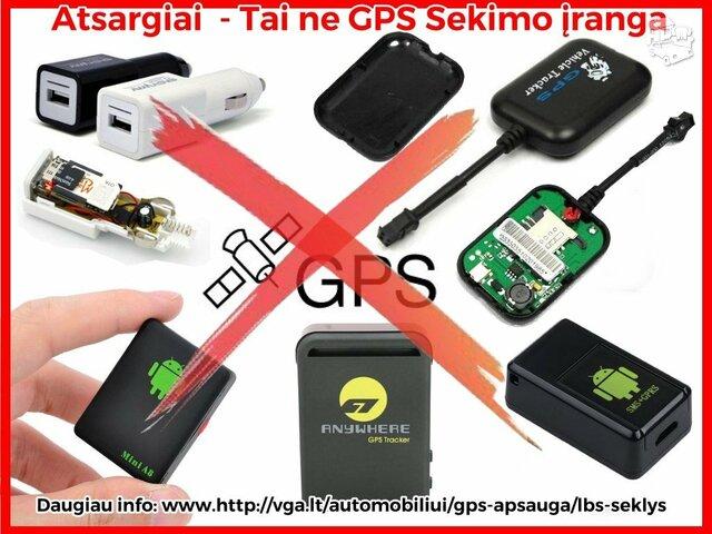 GPS seklys su nemokama paskyra