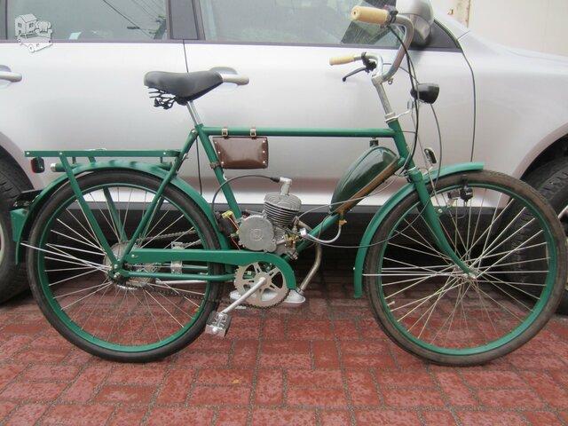 Naujas motorinis dviratis KRONAN