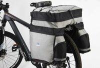Kelioninis krepšys ant dviračio bagažinės