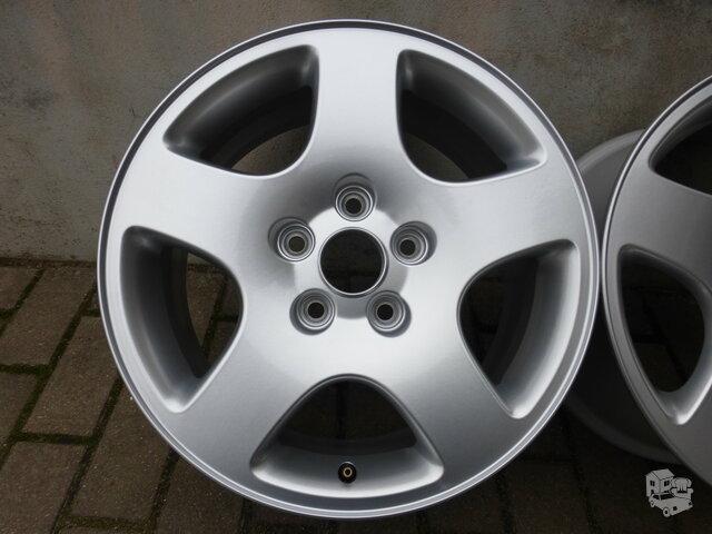 Audi lieti ratlankiai 2vnt., R16, 5x112, J7, C57,1, ET45