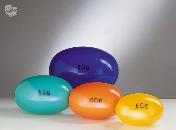 "Ovalus kamuolys ""Egg Standart"" 55x80cm.  Blizgaus paviršiaus."