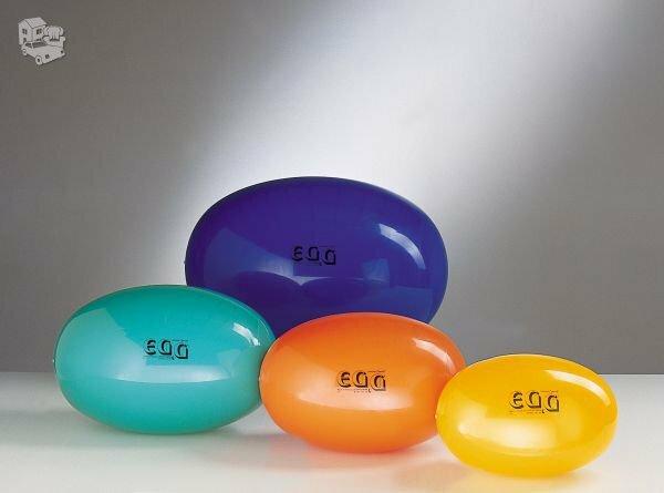 "Ovalus kamuolys ""Egg Standart"" 65x95cm.  Blizgaus paviršiaus."
