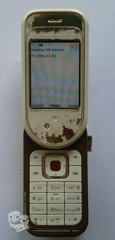 Pilnai veikiantis Nokia 7370. SMS nebendrauju.