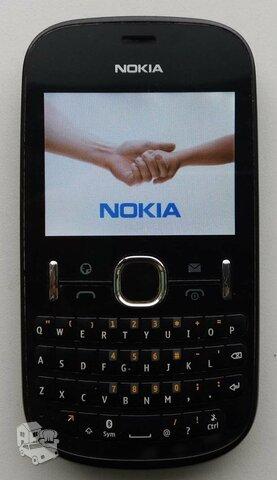 Naudotas veikiantis Nokia Asha 201 telefonas. SMS nebendrauju.